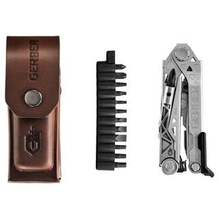 Centre-Drive Plus Multi Tool with Bit Kit and Premium Leather Sheath