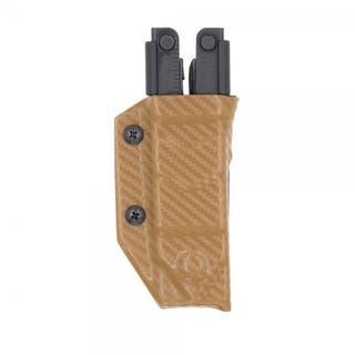 Clip & Carry Sheath: Gerber MP600 - Brown Carbon Fibre
