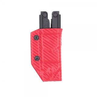 Clip & Carry Sheath: Gerber MP600 - Red Carbon Fibre