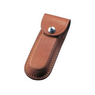 """5"""" Leather Pouch (Brown)"""